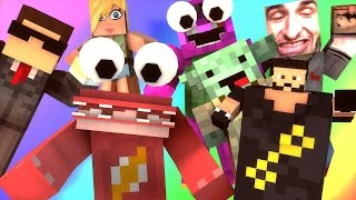 getlinkyoutube.com-THE RED MONSTER AND DJ KHALID EXPERIENCE! | Minecraft Do Not Laugh