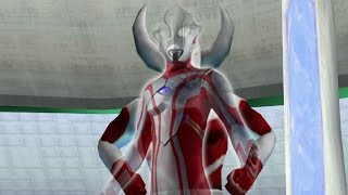 getlinkyoutube.com-Father of Ultra Vs Ultraman Mebius  ϟ Ultraman FE0 ★Play PSP ウルトラセブン