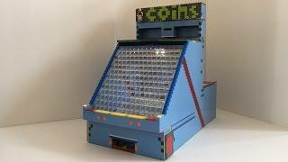 getlinkyoutube.com-Big lego coin pusher