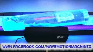 getlinkyoutube.com-CUSTOM Built UV Reactive Lava Atlantis GIANT Wave Machine www.WaveMotionMachines.com