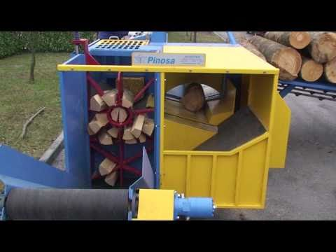 PINOSA.NET EPC 400 WORLDS FASTER FIREWOOD PROCESSOR ***PREVIEW***  BRENNHOLZ  BOIS DE CHAUFFAGE
