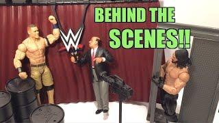 getlinkyoutube.com-WWE ACTION INSIDER: Behind the Scenes BRAWL Wrestling Figure Playset REVIEW!