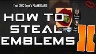 getlinkyoutube.com-How To | Steal Emblems In Bo2 | PS3 | Black Ops 2) | 2016 GLITCH