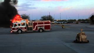 getlinkyoutube.com-Phoenix Fire Dept Training Acadamy Class 16-1 Family Night Burn