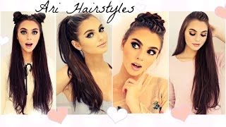 Ariana Grande Hairstyles | Easy & Fast Back To School Looks 2016