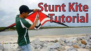 getlinkyoutube.com-How To Assembly and Fly A Stunt Kite | Beginning