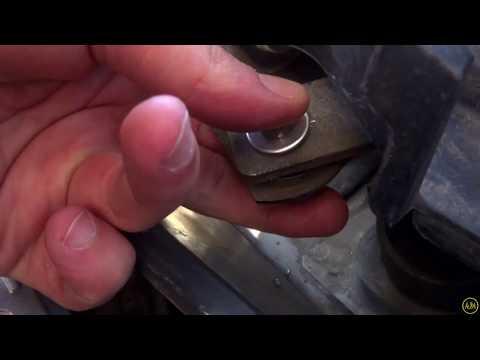 Ремонт трапеции дворников на Бмв Е39.  Repair trapeze wipers on BMW E39.