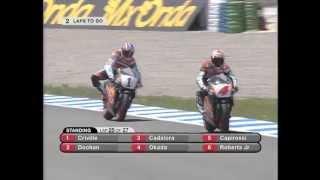 getlinkyoutube.com-1996 Spanish GP - Jerez Panic: Doohan amongst the Spaniards