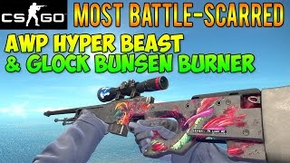 getlinkyoutube.com-CS GO Skins - Most BS AWP Hyper Beast & Max Green Bunsen Burner! (McSkillet Inventory Update)
