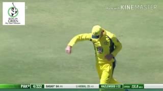 Australia vs Pakistan 3rd ODI - Full Highlights - 2017