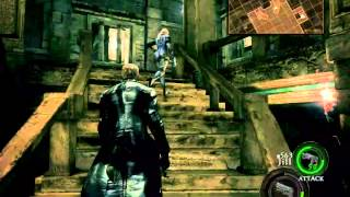 getlinkyoutube.com-Resident Evil 5 - Ultimate Wesker Boss mod
