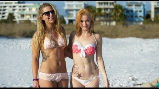 getlinkyoutube.com-FDR-AX33 v FZ1000 Bikini Girls - 4k UHD
