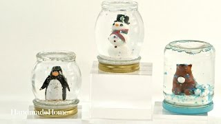 getlinkyoutube.com-How to Make a Homemade Snow Globe - Martha Stewart