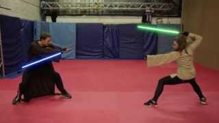 """getlinkyoutube.com-FIGHT CONCEPT FOR """"STAR WARS - LIGHTSABER DUEL"""" - IMPULSE - ACTION DESIGN"""