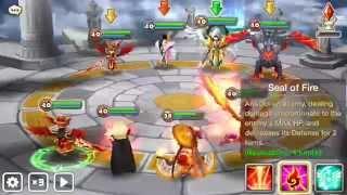 Summoners War Arena - Top 30 Battles - vs Barion (Vanessa Praha Eladriel Zaiross)