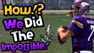 getlinkyoutube.com-EVERYONE THOUGHT THAT THIS WAS IMPOSSIBLE!! Crazy Madden 17 Gauntlet Gameplay