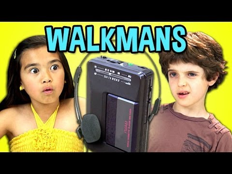 Kids React To Walkmans