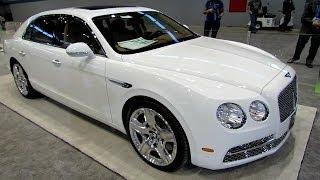 getlinkyoutube.com-2014 Bentley New Flying Spur - Exterior and Interior Walkaround - 2014 Chicago Auto Show