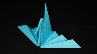 "getlinkyoutube.com-折り紙シアター『折り羽鶴』 The origami-theater ""crane"""