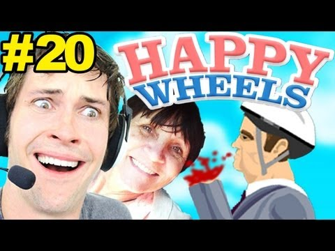 Happy Wheels - MOM WATCHES ME PLAY - Part 20