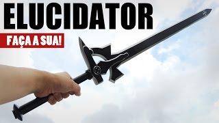 getlinkyoutube.com-Kirito Elucidator – Faça a sua! (Sword Art Online)