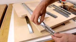 getlinkyoutube.com-Pantorouter XL build: Linear glides