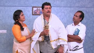 getlinkyoutube.com-Thatteem Mutteem | Ep 212 - Arjunan's latest trick to get an award | Mazhavil Manorama