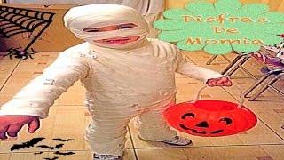 getlinkyoutube.com-Elaborando Disfraz De Halloween (( Momia ))