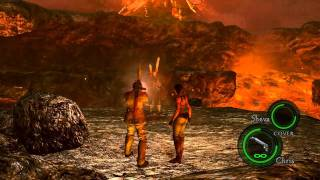getlinkyoutube.com-Resident Evil 5 PC Mod - Uroboros Wesker Midnight