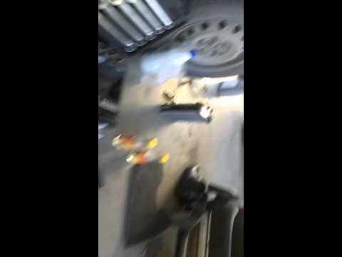 Промывка радиатора печки Тойота Ипсум 26 кузов