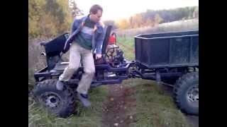 getlinkyoutube.com-Самодельный полноприводной трактор.часть1
