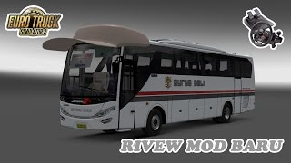 Euro Truck Simulator 2 | Review Mod Bus Jetbus Setra Hino Adiputro