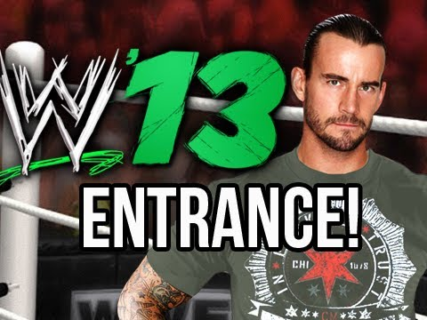 WWE 13 - CM Punk's Official Entrance ( WWE 13 Gameplay )