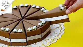 getlinkyoutube.com-ขนมเค้กกินไม่ได้ กล่องของขวัญวันเกิดปีใหม่น่ารัก   DIY Cake Gift Box   Thaitrick