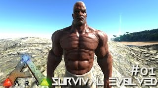 ARK: Survival Evolved - EPIC START - NEW POOPING EVOLVED SERVER !!! - [Ep 01] (Server Gameplay)