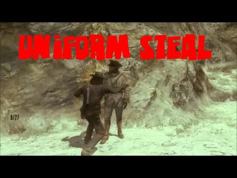 Red Dead Redemption ROLE PLAY:ASSASSINS: The Uniform Steal and Cliff Fighting to the Death!