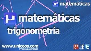 Imagen en miniatura para Trigonometria - Resolucion de un triangulo