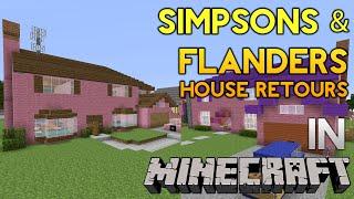 getlinkyoutube.com-Minecraft: Simpsons & Flanders House Retours