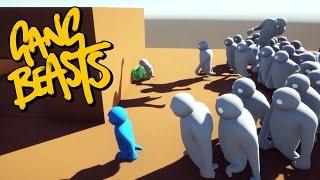 getlinkyoutube.com-Gang Beasts - WE ARE SOO DEAD!!! [Roof Waves]
