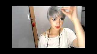 getlinkyoutube.com-Como cheguei no cabelo branco/platinado + hidratação/reconstrução PT1
