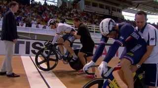 getlinkyoutube.com-Mens Sprint Final  -  2014 UCI Track Worlds
