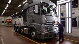 getlinkyoutube.com-Mercedes-Benz Custom Tailored Trucks -- Molsheim plant