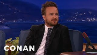 """Aaron Paul Can't Stop Saying """"Bitch"""""""