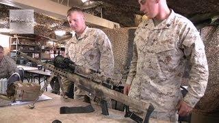 getlinkyoutube.com-U.S. Marines - Barrett M82/M107 Sniper Rifle Class