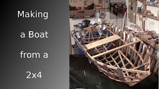 getlinkyoutube.com-⚔ Making a boat from a single 2x4 [HD]