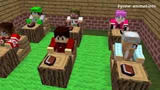 getlinkyoutube.com-Minecraft Love Story - Диллерон и Миникотик (Minecraft Мультики)