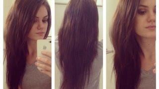 getlinkyoutube.com-HOW to Trim your hair / Basic Tutorial