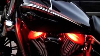 getlinkyoutube.com-Kawasaki Vulcan with custom LED lights