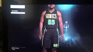 getlinkyoutube.com-NBA 2K16 Relocation Seattle Sonics