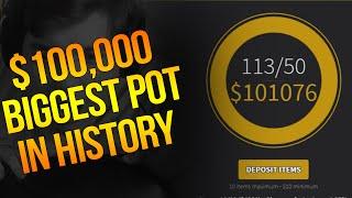 getlinkyoutube.com-$100,000 POT!! BIGGEST POT IN CS:GO HISTORY!!! (ft. PhantomL0rd)